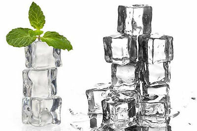 1/5/15pcs Acrylic Ice Cubes Square Glass Luster Ice Cubes Fake Artificial 2.5cm