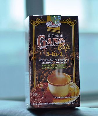 8 Boxes Gano Excel Cafe Coffee Ganoderma 3 in 1 FREE DHL EXPRESS SHIPPING