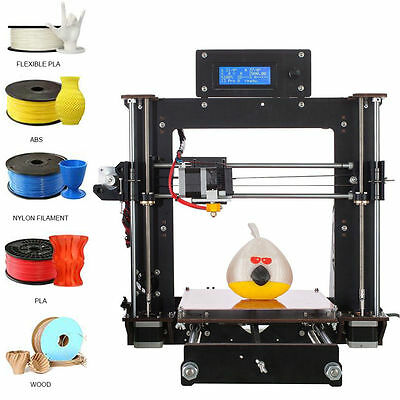 Duty free Reprap Prusa I3 Pro B 3D imprimante MK8, Factory Direct, free shipping