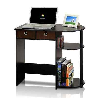 Small Computer Desk Laptop Compact Bedroom Home Office Furniture Storage Drawer