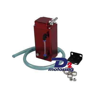 1L Oil Catch Square Greddy-Style Billet Engine Reservoir Breather Tank/can