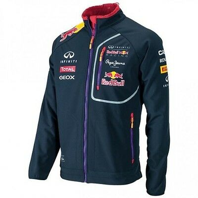 Pepe Jeans Red Bull Racing Collection Men's Softshell Jacket Blue