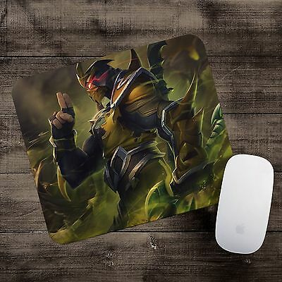 Yellow Jacket Shen Mousepad League of Legends mouse pad LoL gamer playmat