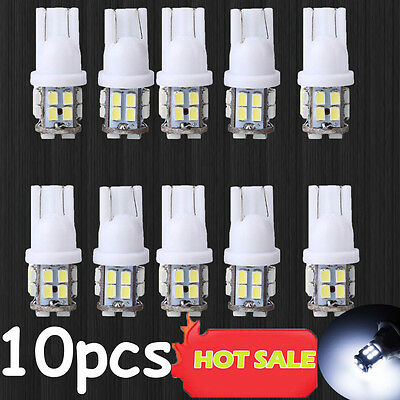10x T10 W5W 194 168 501 White 20SMD LED Inverted Side Wedge Light Bulb Sale