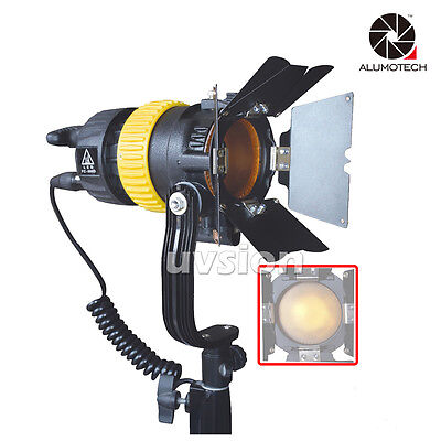 Portable High CIR Bi-color 50W LED Spotlight for Camera Video Continuous Light