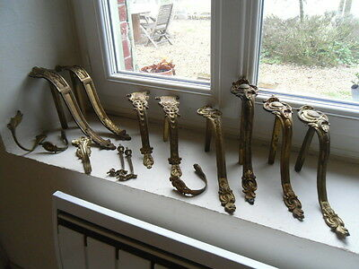 many of gilt bronze hooks curtains. 19 th