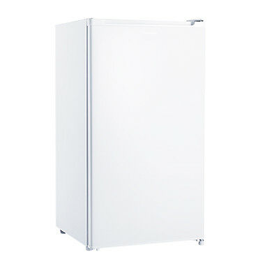 Brand New 95L Akai Bar Fridge Glass Shelves Crisp Drawer Temp Control Light