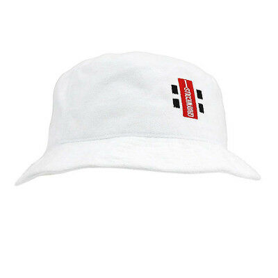 NEW Gray Nicolls Towelling Hat - White   from Rebel Sport