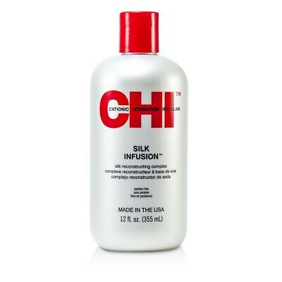 NEW CHI Silk Infusion Silk Reconstructing Complex 12oz Mens Hair Care