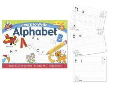 First Learning Writing Book Start Handwriting Early Years Pre-School Children 3+