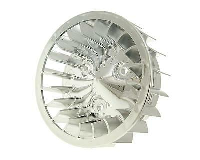fan wheel chrome for Minarelli horizontal, Keeway, CPI, 1E40QMB