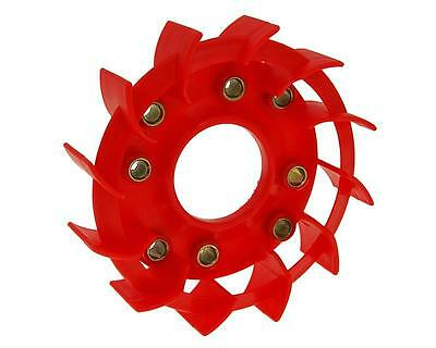 cooling fan Naraku Racing red for Kymco, Baotian, GY6 50, 139QMB