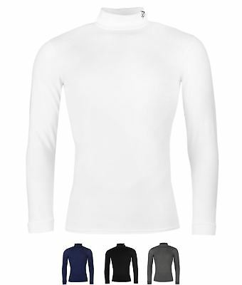 DI MODA Dunlop Roll Neck Uomo White