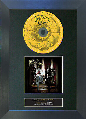 PANIC AT THE DISCO Vices & Vertues Signed CD Mounted Autograph Photo Print 71