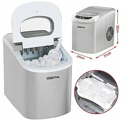 Beyondfashion Low Noise 220-240V / 50Hz Electrical Ice Cube Maker Machine Home