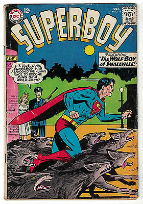 DC Comics SUPERBOY Number 116 The Wolf-Boy Of Smallville! VG