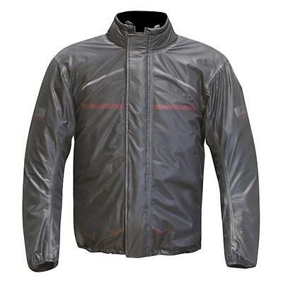 Merlin Motorcycle Rain Over Jacket Stretch Water Proof Breathable track day race