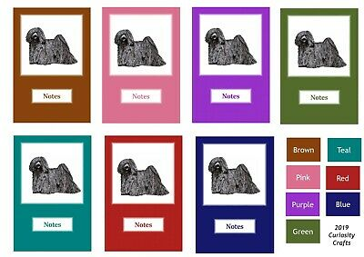 Hungarian Puli Notebook by Curiosity Crafts