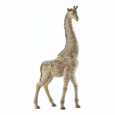 Tall 18 Inch Giraffe Statue Safari Wildlife Animal Home Decor