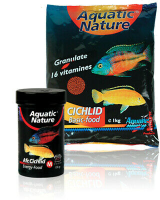 Aquatic Nature African Cichlid Energy Food M 130g -NEU-