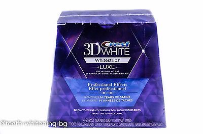 Crest3D Whitestrips Luxe Professional Effects 40 Strips 20 Pouches
