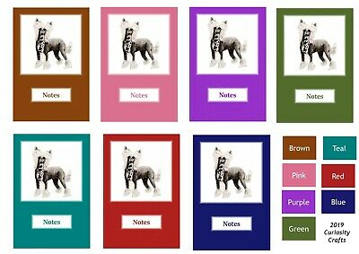 Chinese Crested Notebook by Curiosity Crafts
