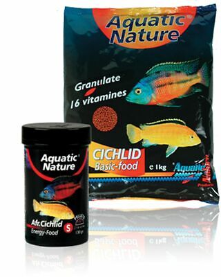 Aquatic Nature African Cichlid Energy Food S 320ml / 130g