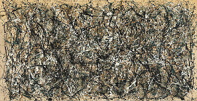 Jackson Pollock  Number 31 Canvas Print Paintings Poster Reproduction Copy