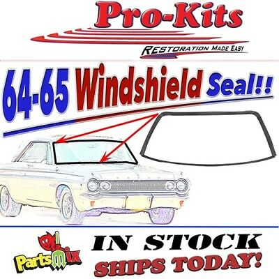 64 65 Coronet 330 440 Polara Belvedere Satellite Windshield Weatherstrip Seal