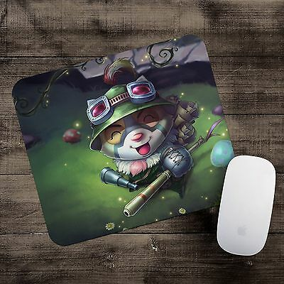 Recon Teemo Mousepad League of Legends mouse pad LoL gamer playmat