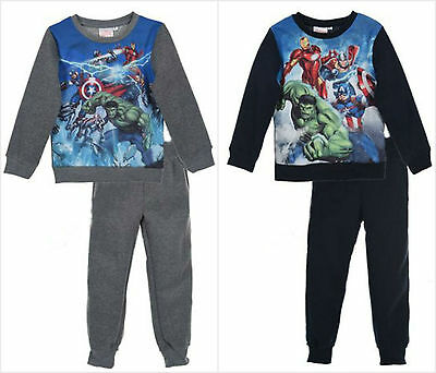 Avengers Jogging Set Tracksuit Sweater Jumper Jogging Bottoms Boys 3-10Y Marvel