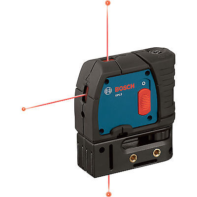 3-Point Self-Leveling Alignment Laser Open Box Bosch Tools GPL3 New