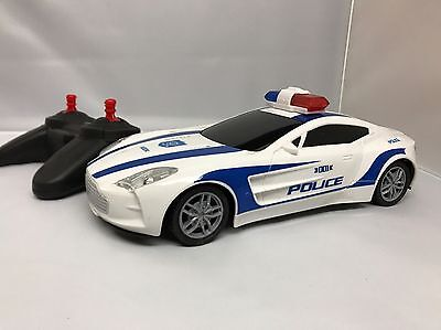 Police Car Remote Control Toy With Light Full Function 1:18 Scale