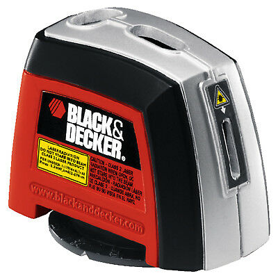 Black & Decker 360 LASER LEVEL 2-Bubble Vials With Backlight • HOME • WORK • NEW