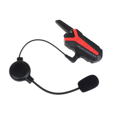 Speaker Headset Motorcycle Interphone Bluetooth Helmet Intercom X3 Plus
