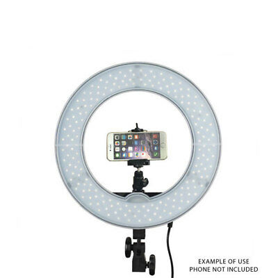 Mettle Ring LED Light RL-12 with Phone Mount 5500K Halo Beauty Makeup Youtube