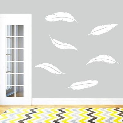 Feathers Wall Decals Wall Stickers