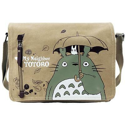 Anime My Neighbor Totoro Canvas Messenger Shoulder Bag Cosplay Collection Gift