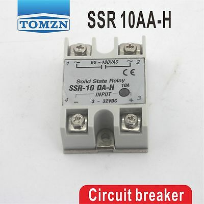SSR 10AA-H High voltage type input 80-250V AC load 24-380V AC solid state relay