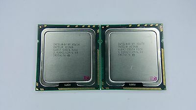 Matched Pair of Intel Xeon X5670 2.93GHz Six Core SLBV7 Processor w/Grease