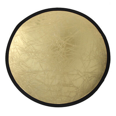2 in 1 60/80/110cm Light Multi Collapsible Photo Disc Photography Reflector