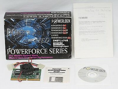 Powerlogix Powerforce G4 350Mhz / 1MB for Apple Macintosh Power PC 9500 +more