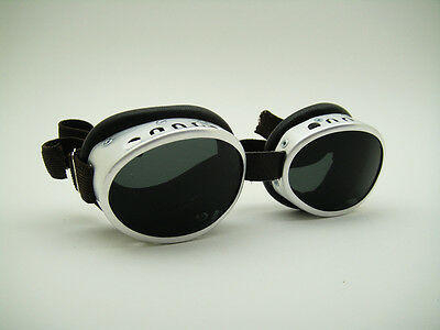 NEW UV CLASSIC SNOW ALPINE ARTIC SKI ALLUMINIUM GOGGLES RETRO VTG Expedition