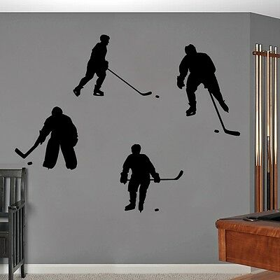 Hockey Wall Decals Wall Stickers