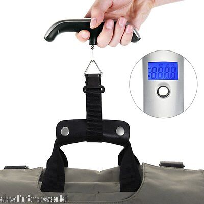 50kg Mini LCD Electronic Scale Hand Carry Luggage Digital Weighing Device