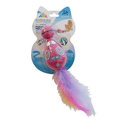 R2Pet Categories Roll Around Mouse Cat Toy Multicolour - SAME DAY DISPATCH