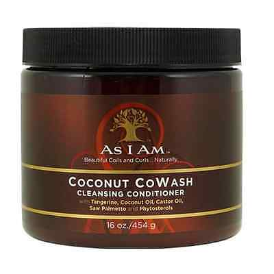 As I Am Coconut Co-Wash Cleansing Conditioner  454g/16oz  Fast Post  