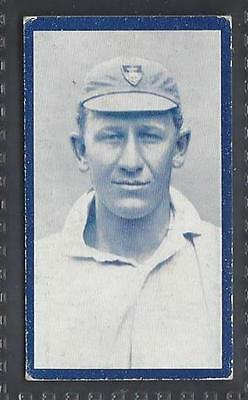Hill - Famous Cricketers Series (Red Back) - #24 Roland Beaumont, Transvaal