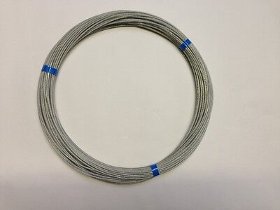 50 MTRS Of  Poly Coated Flex Weave  Antenna/ Aerial Wire Ham Amateur Radio Use