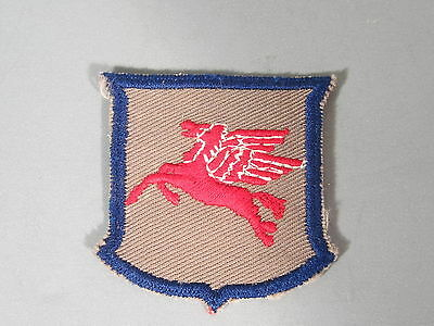 Mobil Oil Pegasus Patch / New Old Stock of Closed Embroidery Company / FREE Ship